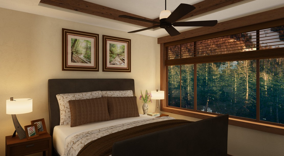 A Bedroom at One Ski Hill Place - Breckenridge - USA