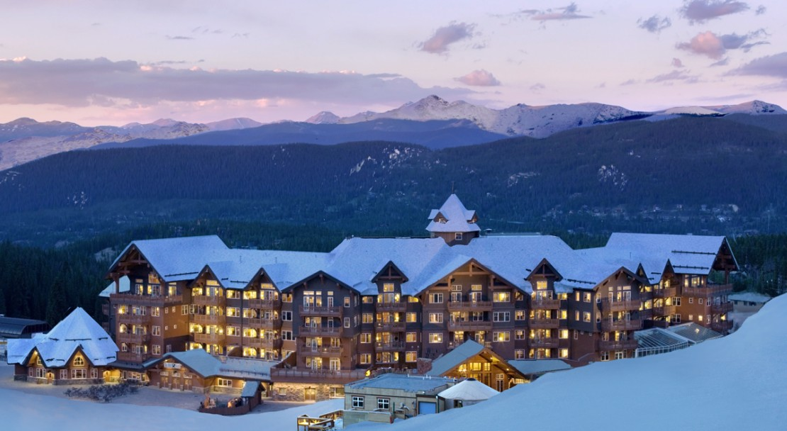 Dusk at One Ski Hill Place - Breckenridge - USA