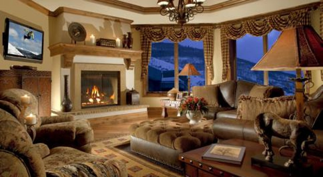 Private Living Area - The Arrabelle - Vail