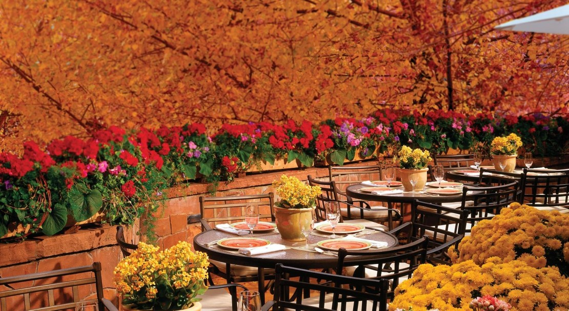 The Cucina Terrace - Lodge at Vail