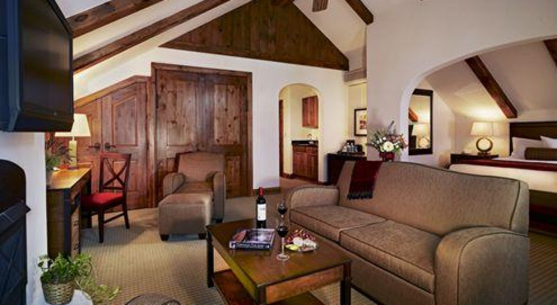 The Bellflower Junior Suite in The Austria Haus, Vail Ski Resort