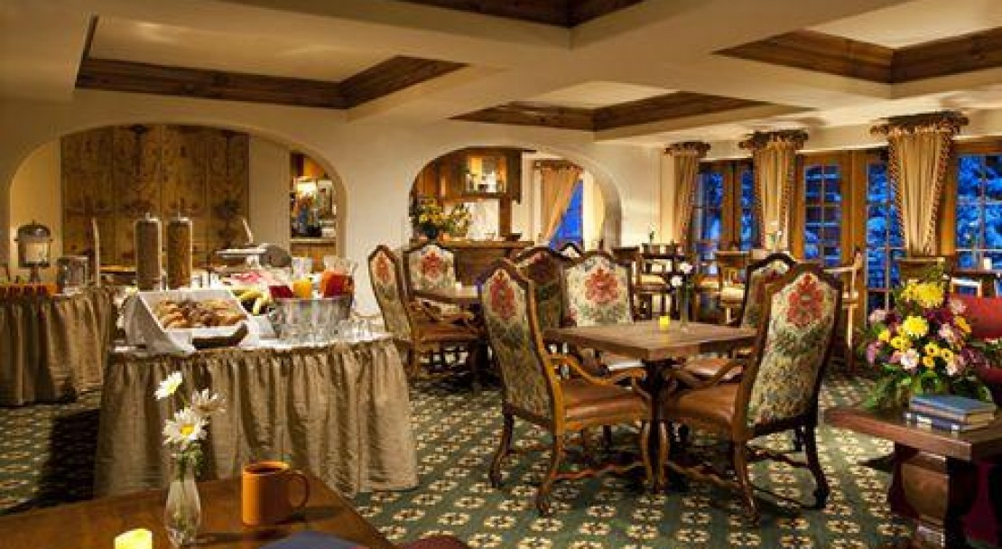The Breakfast Room in The Austria Haus, Vail Ski Resort