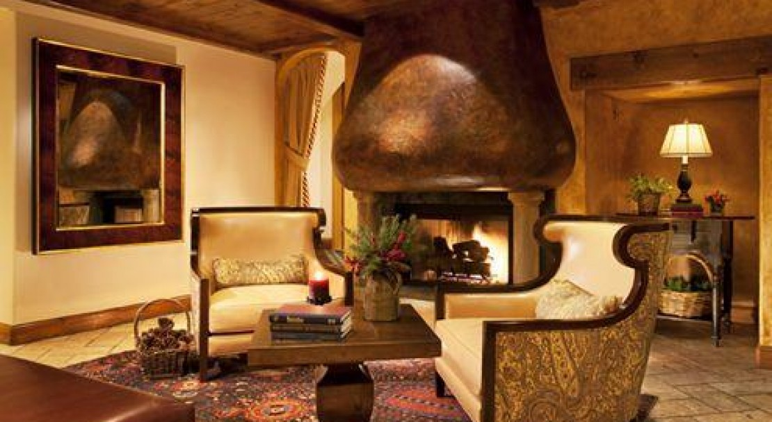The Fireside Lounge in The Austria Haus, Vail Ski Resort