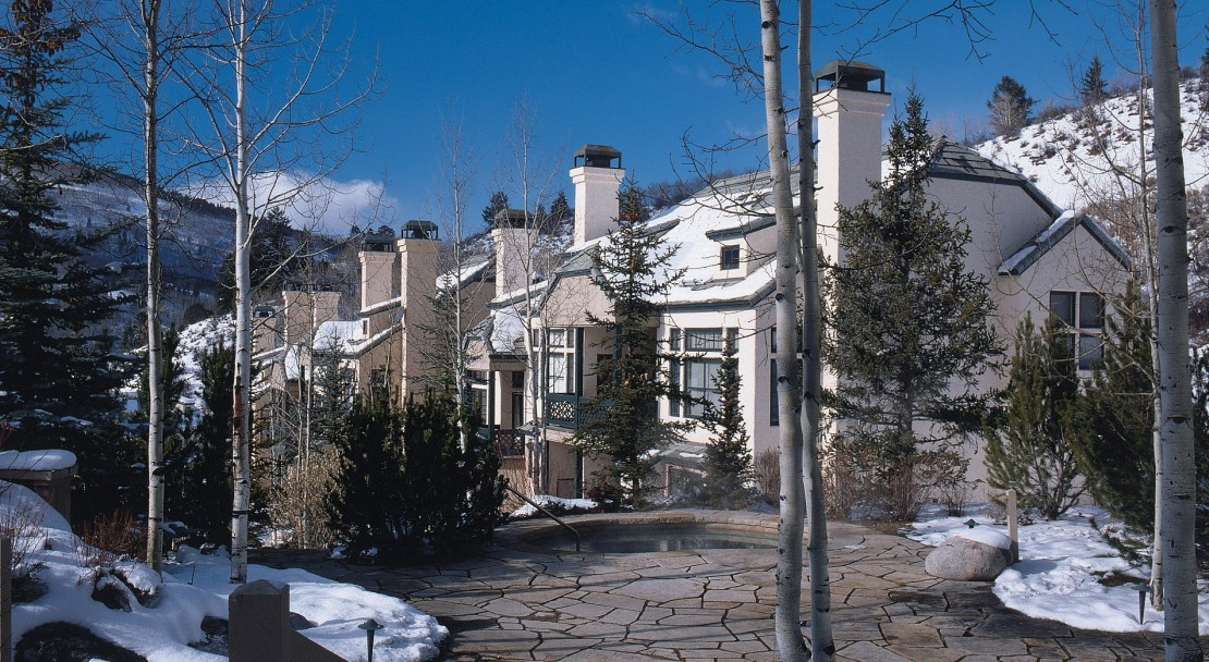 The exterior of The Pines Lodge, Beaver Creek