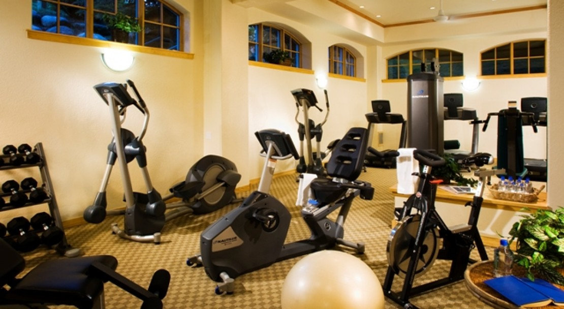 Gym facility at The Pines Lodge - Beaver Creek