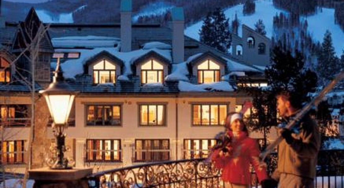 The Pines lodge is well situated near the centre of town and the ski lifts.