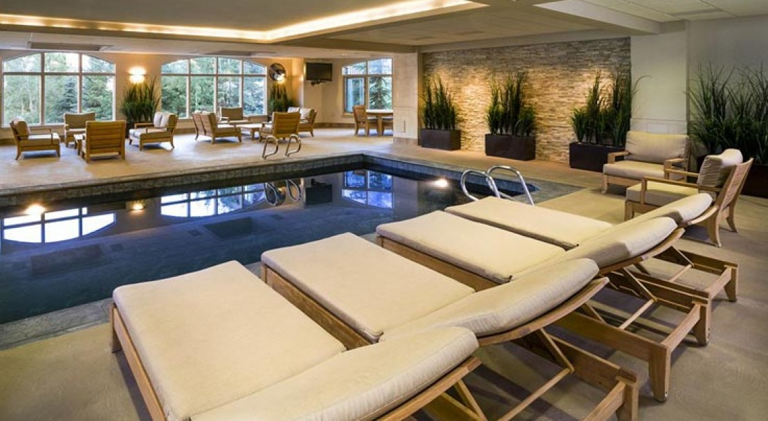 The fantastic Indoor Pool at St James Place, Beaver Creek