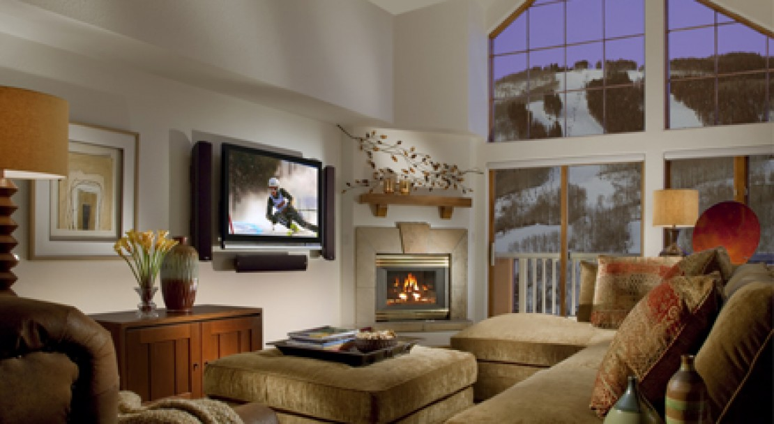 Example condo interior at St James Place, Beaver Creek