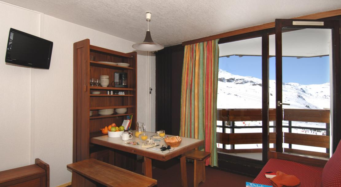 Apartment with Balcony in Residence Tourotel Val Thorens