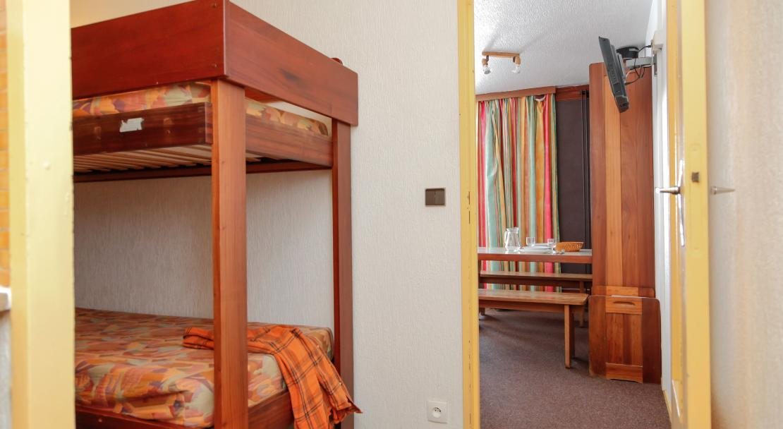 Tourotel bunk beds; Copyright: Odalys
