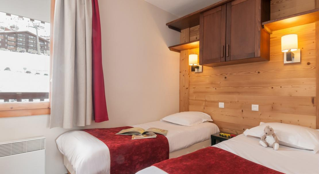Twin Beds Le Quartz La Plagne
