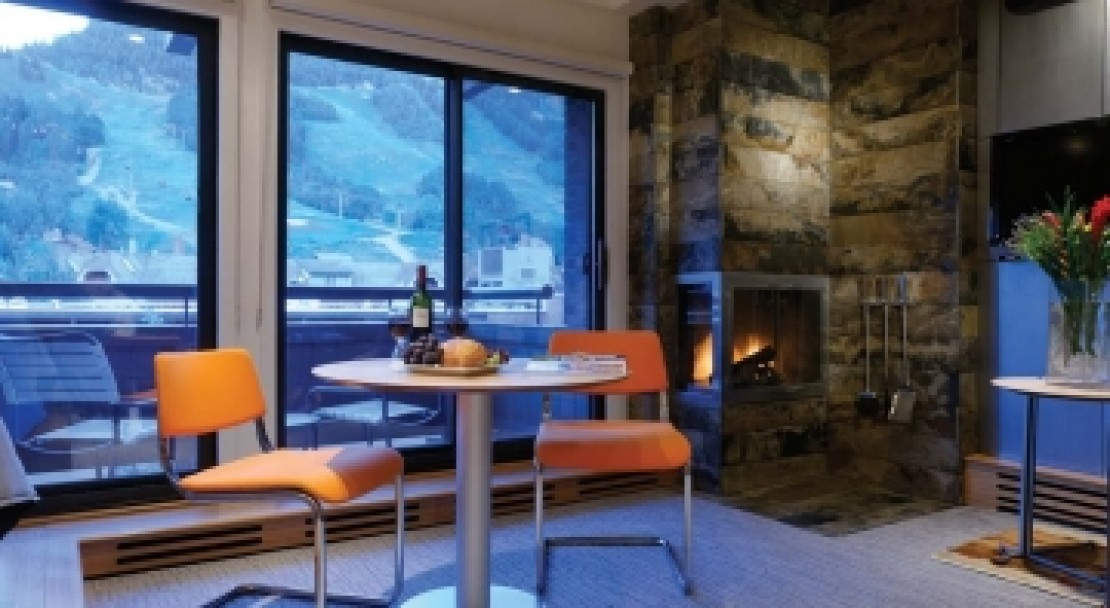 Aspen Square Studio with view