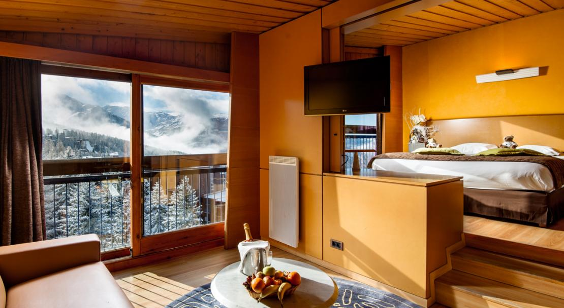 A Junior Suite Hotel du Golf Les Arcs