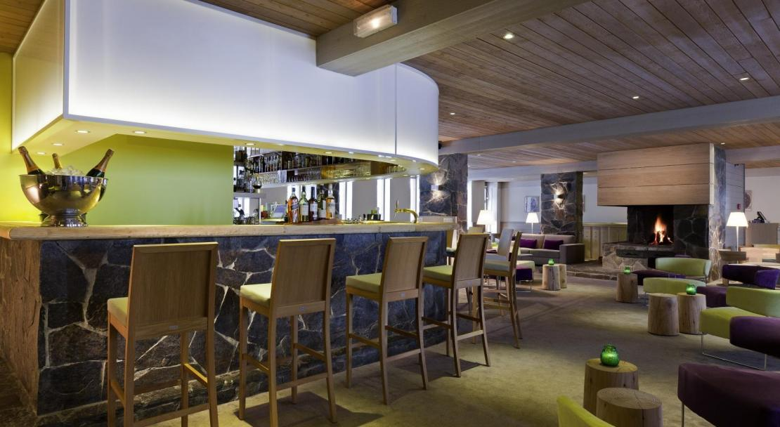 Hotel du Golf - Bar - Les Arcs ; Copyright: F RAMBERT