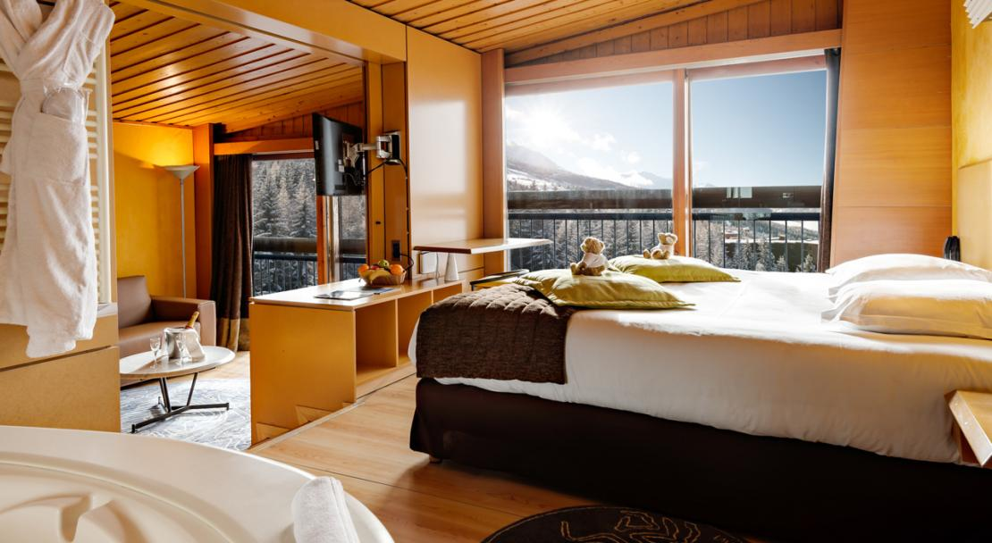 Junior Suite Hotel du Golf Les Arcs