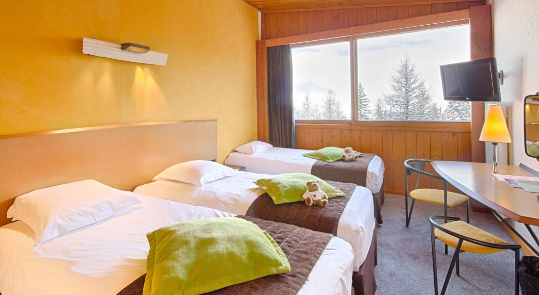 Triple Room Hotel du Golf Les Arcs