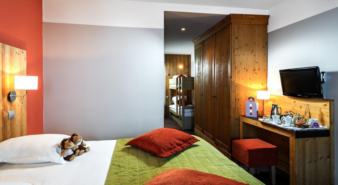 Family Room Hotel Les Bruyeres Les Menuires