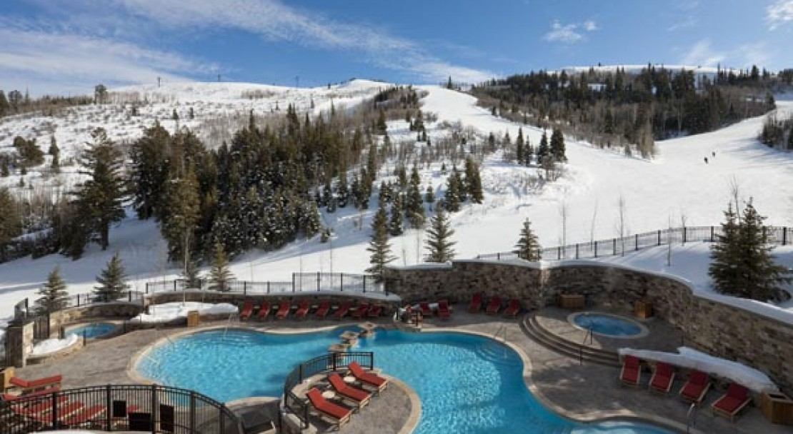 Pool and Hot tubs at St Regis Deer Valley