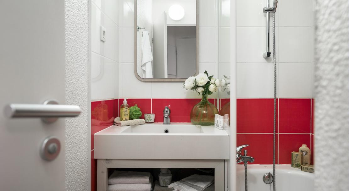 Bathroom at Residence La Daille P&V