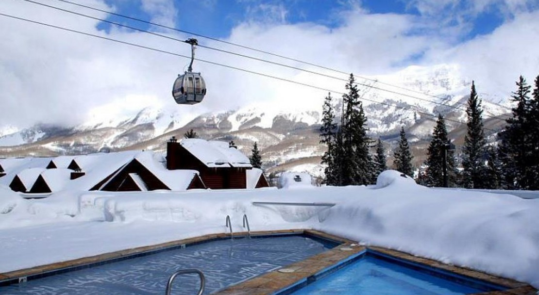 Outdoor Pool and Hot tub at the Mountain Lodge - Telluride