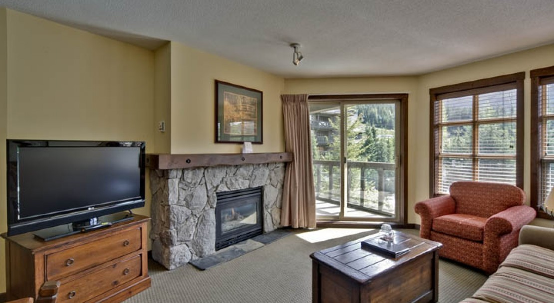 Suites at the Coast Blackcomb Suites at Whistler are well furnished and have flat screen TV's