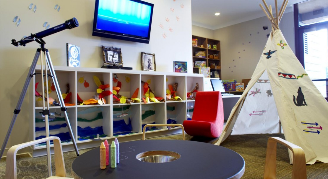 Excellent facilities for children at the Westin Riverfront Resort & Spa