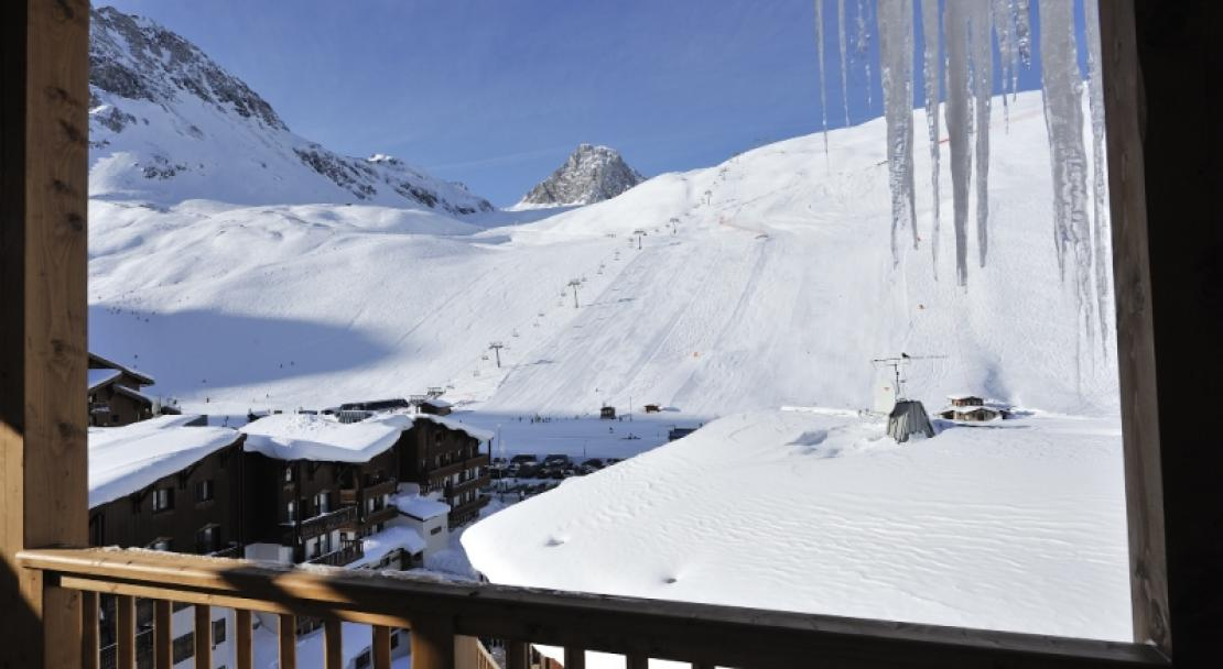 A View from a Balcony - Le Jhana - Tignes