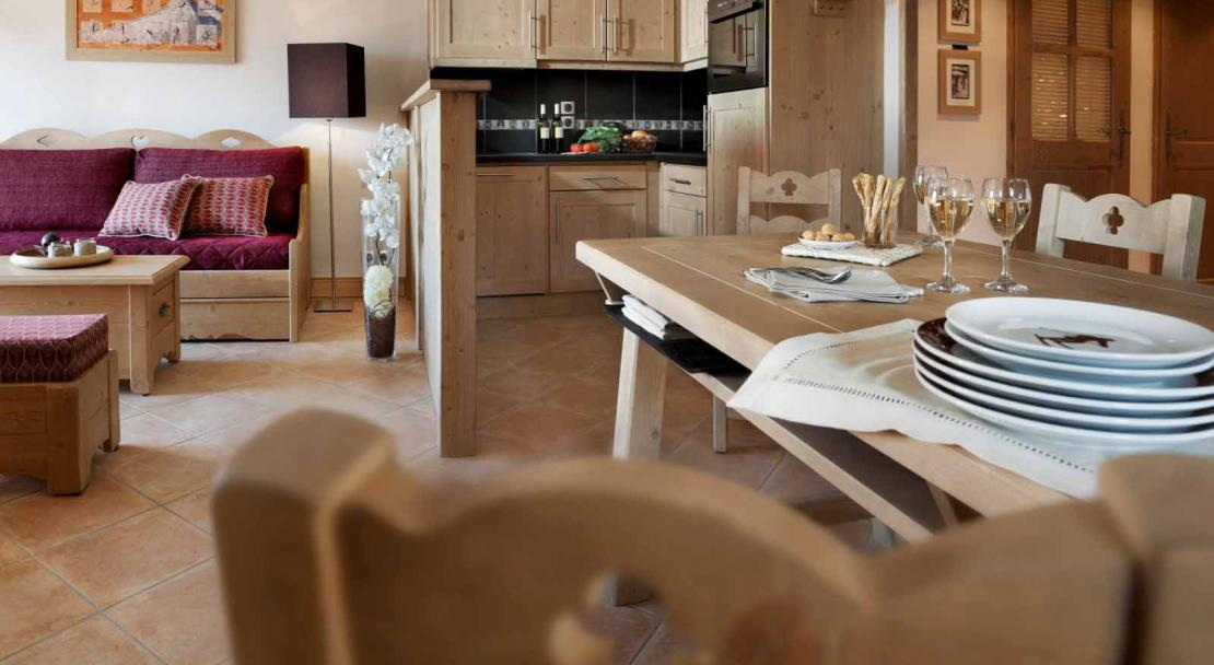 Sample living area - Le Jhana - Tignes