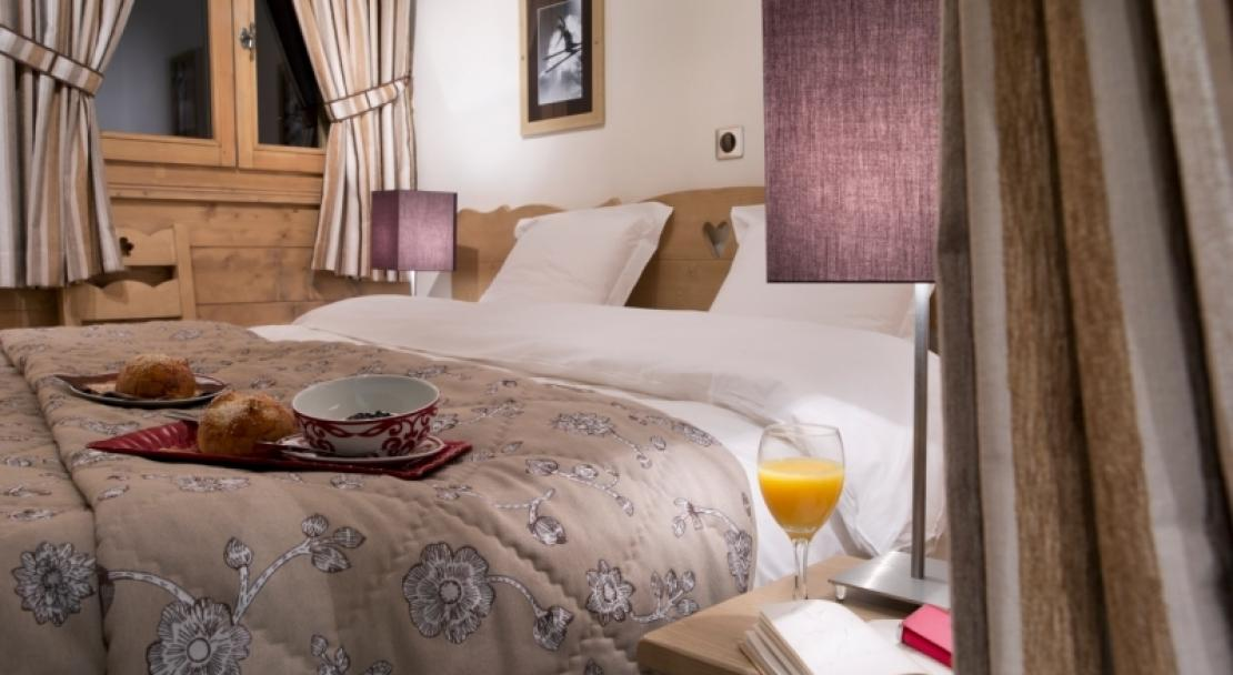 L'oree Des Neiges, Peisey Vallandry, Double Bedroom