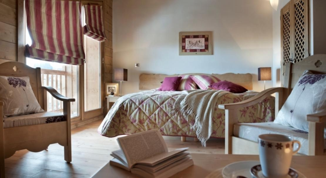 Another example of a bedroom in L'Oree des Neiges, Vallandry, France