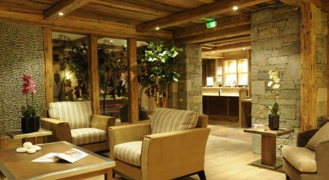 The Reception Area - L'Oree Des Cimes - Vallandry; Copyright: Thierry Genand