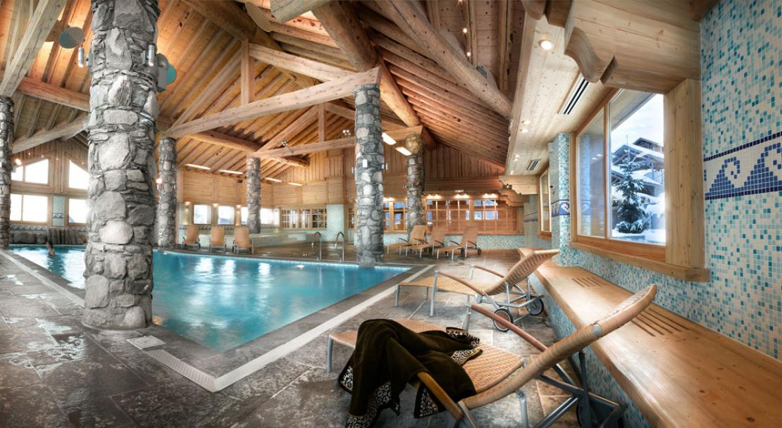 Swimming pool- L'Orée des Cimes - Peisey Vallandry