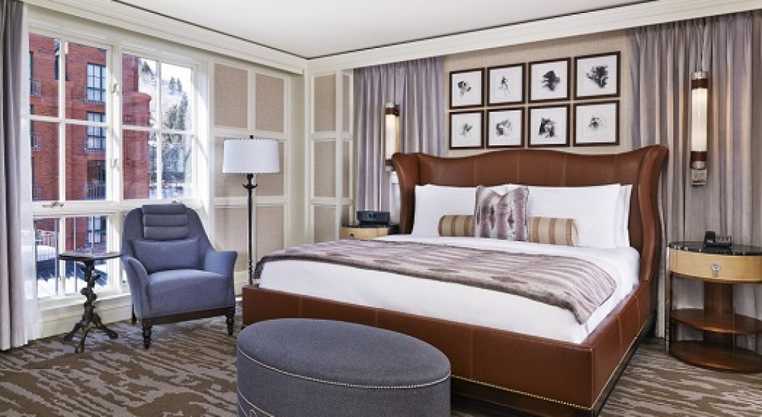 Stylish rooms at the St Regis, Aspen