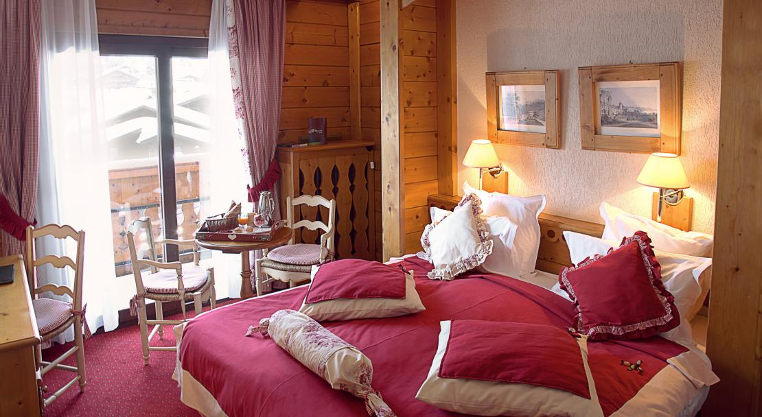 Classic room at Hotel La Marmotte Les Gets