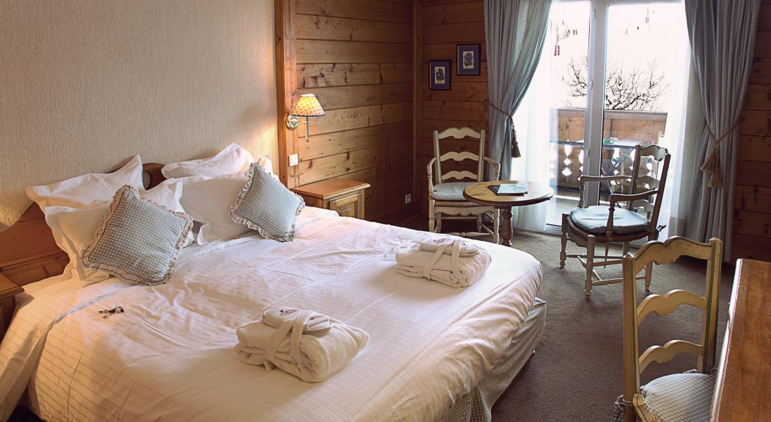 Superior room at Hotel La Marmotte Les Gets