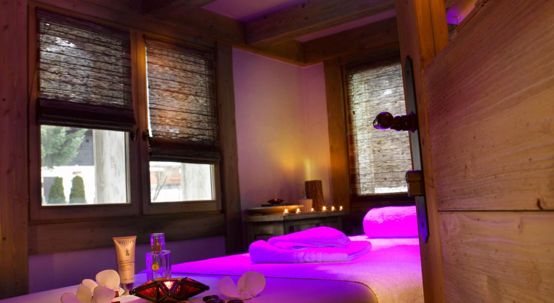 Spa treatments at Le Hameau de Pierre Blanche, Les Houches