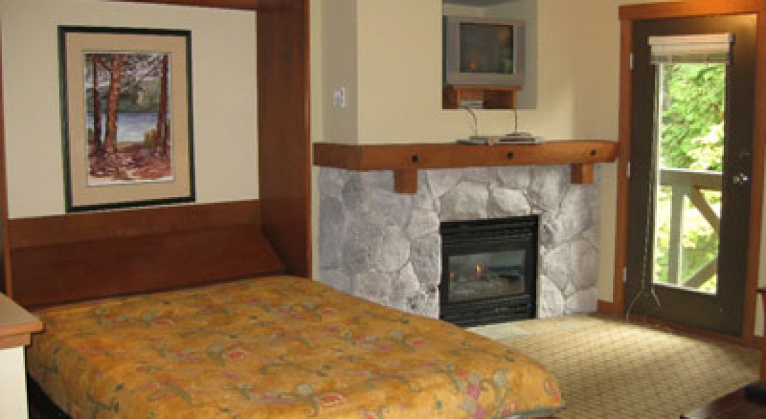 Sample interiror of the condos at Lost Lake Lodge, Whistler