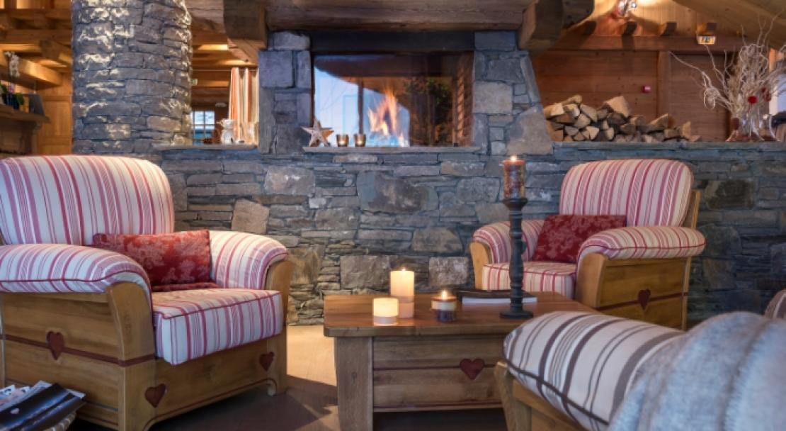 Sitting area in Les Alpages De Champagny