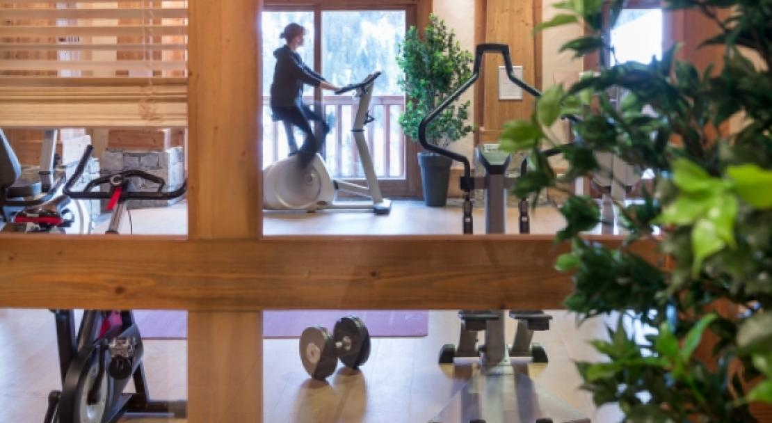 Gym in Les Alpages De Champagny