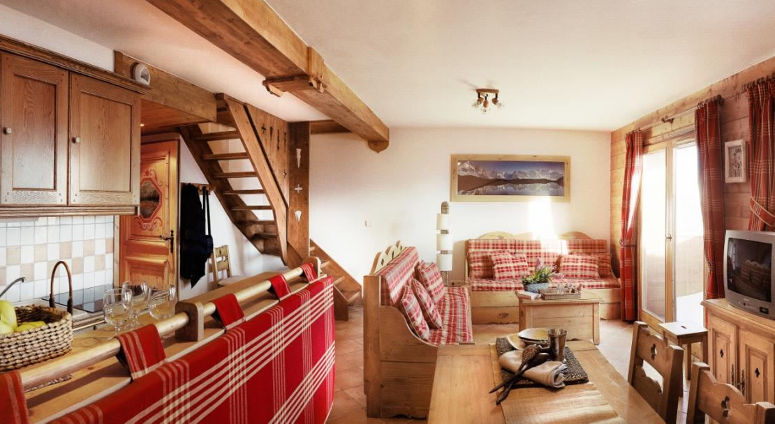 Duplex apartment in Les Alpages De Champagny
