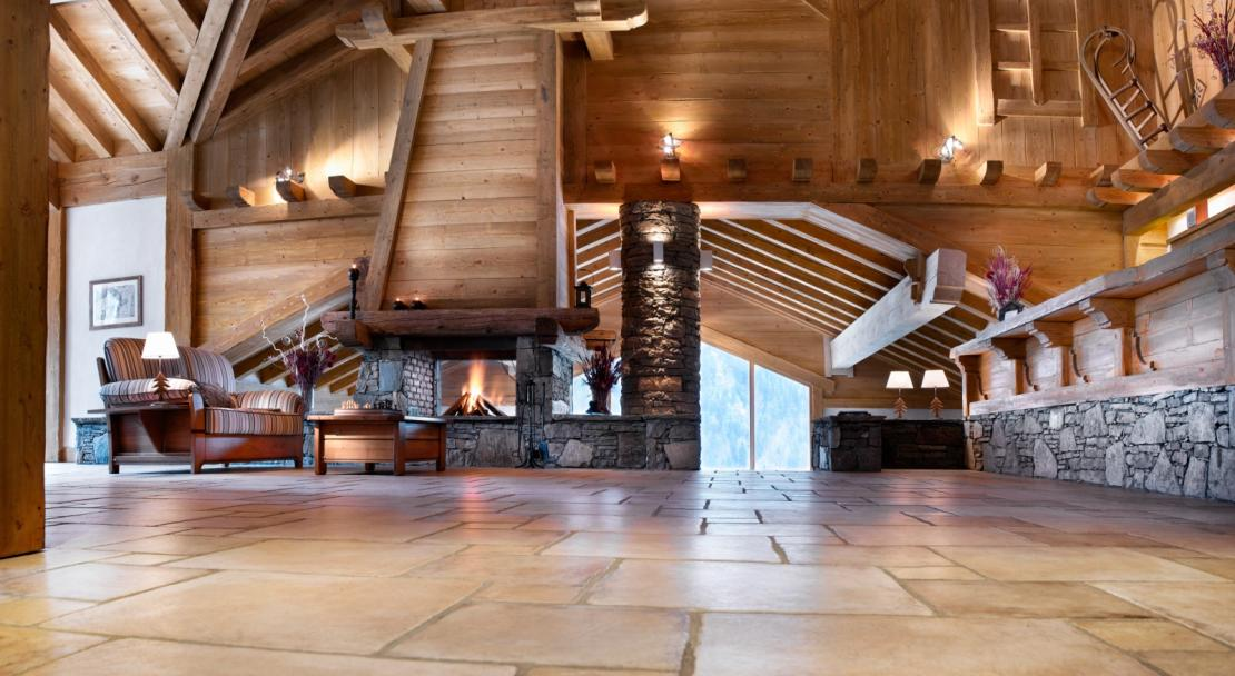 Reception Lounge in Les Alpages De Champagny