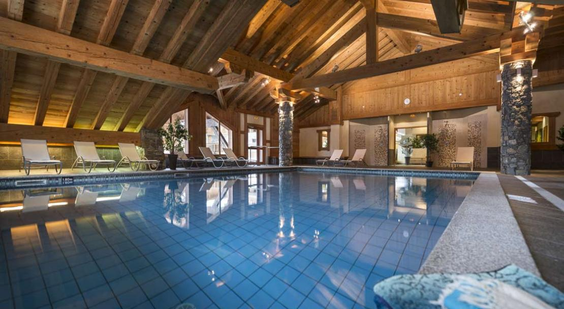 Indoor Pool in Les Alpages De Champagny