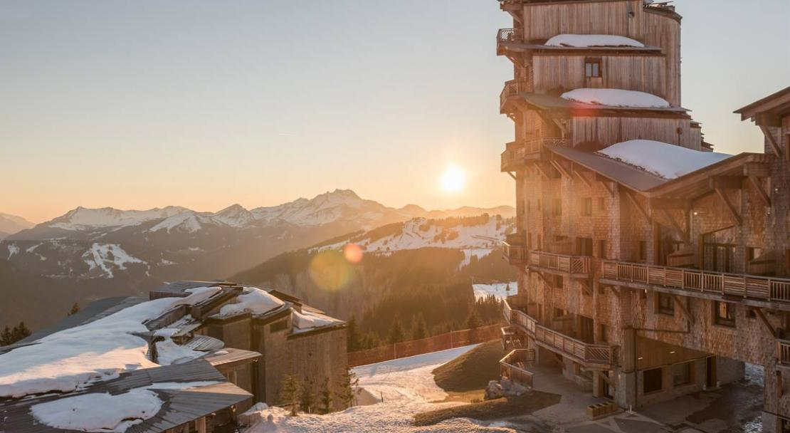 Views from L'Amara, Avoriaz