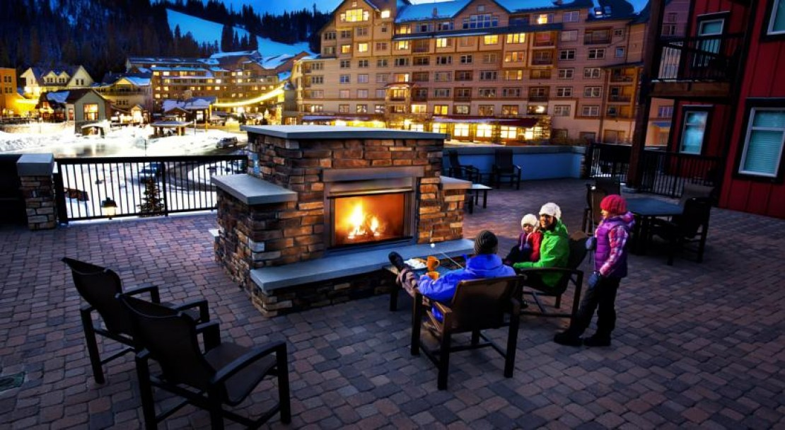 Fire Pit at Founders Point Frasers Crossing - Winter Park Ski Resort