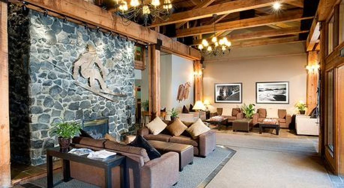 The Hotel Lobby - Tantalus Lodge - Whistler - Canada