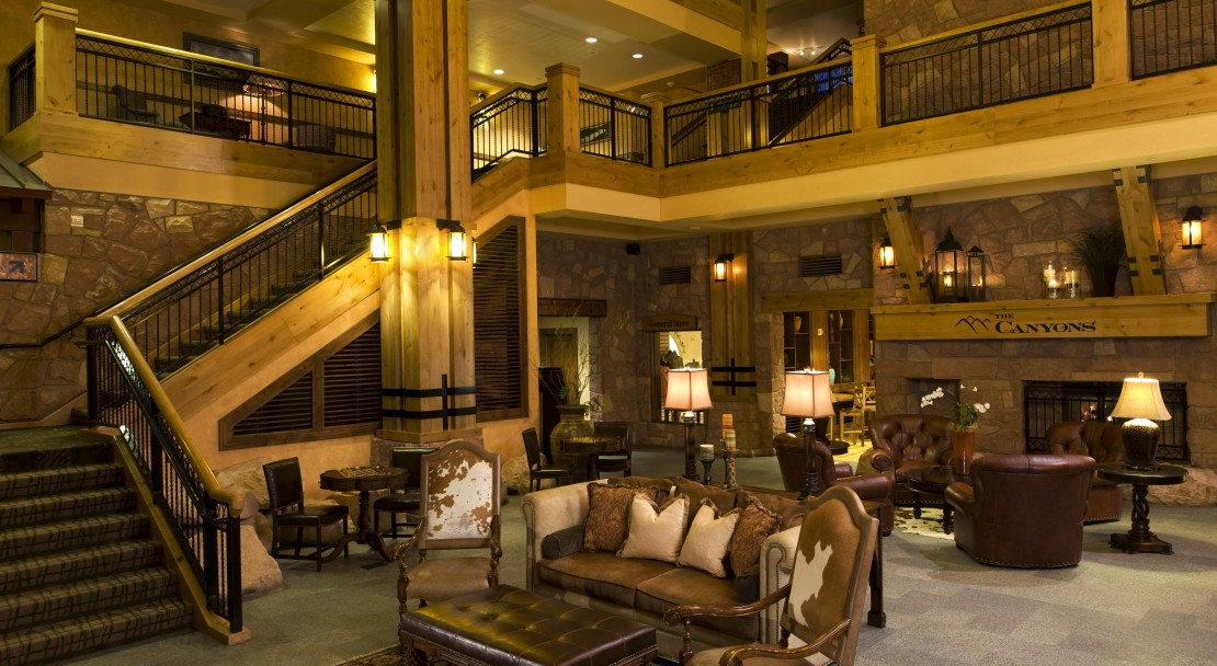 The Lobby - The Grand Summit Hotel - The Canyons - USA