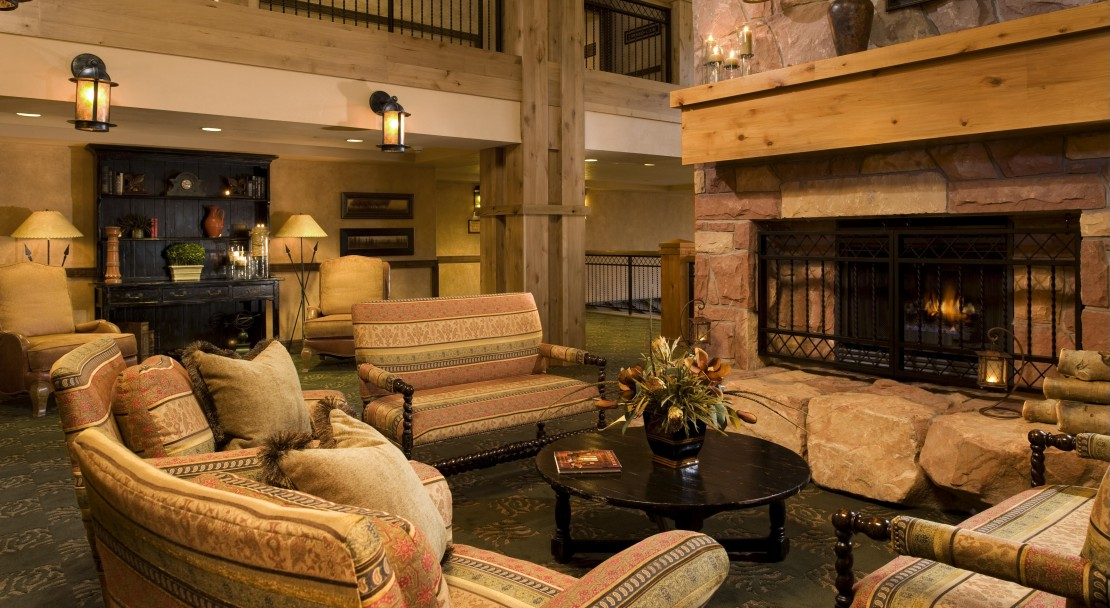Another view of the Lobby - The Grand Summit Hotel - The Canyons - USA