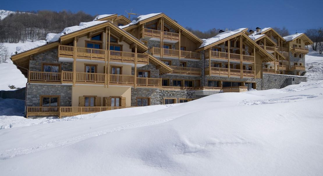 Ski-in Ski-out Location - Les Chalets du Gypse - St Martin de Belleville