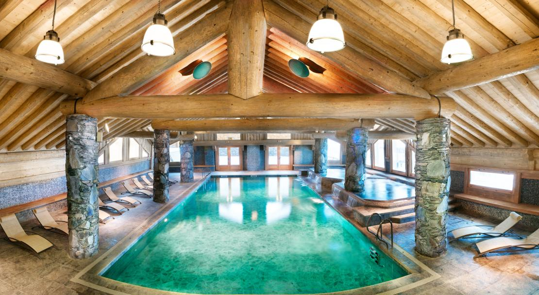 Swimming pool - Les Cimes Blanches - La Rosiere
