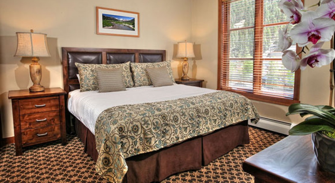 Bedroom at The Village at Squaw Valley